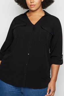 New Look Curve Utility Shirt