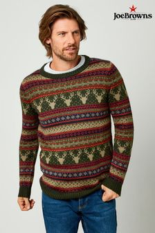 Joe Browns Festive Christmas Fairisle Knit