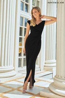 שמלת מקסי ללא כתפיות של Sistaglam Loves Jessica