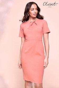Облегающее платье миди Closet