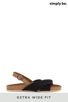 Holiday Footwear Xwide Sandals