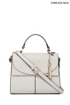 Forever New Pippa Flap Top Handle Handbag