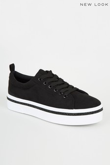 New Look Flatform Trainers