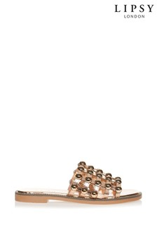 Style Shoes Studded Slider