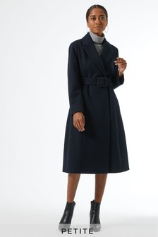 Dorothy Perkins Petites Belted Wrap Coat