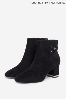 Dorothy Perkins Aria Gold Trim Ankle Boot