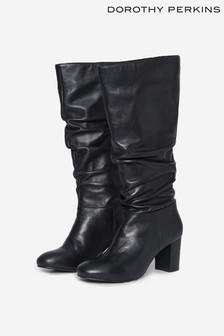 Dorothy Perkins Ruched Long Boot