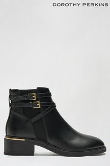 Dorothy Perkins Multistrap Clip Chelsea Boot