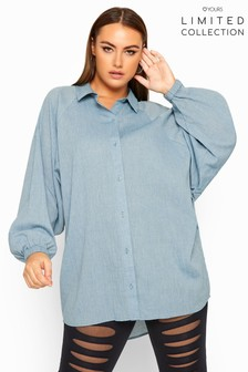 Yours Limited Collection Curve Oversized Shirt