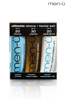 men-ü Ultimate Shave Facial Set 3x15ml