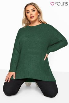 Yours Curve Chunky Knitted Jumper