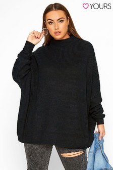 Yours Curve Oversized Knitted Jumper