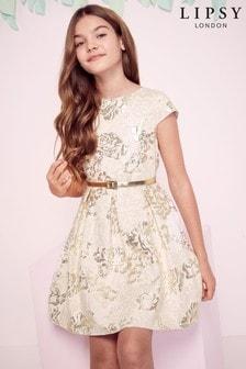 Lipsy Girl Jacquard Dress