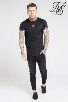 חולצת טי עם שרוול קצר של SikSilk