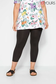 Yours Curve Crop Leggings