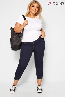 Yours Curve Jenny Crop Jeggings