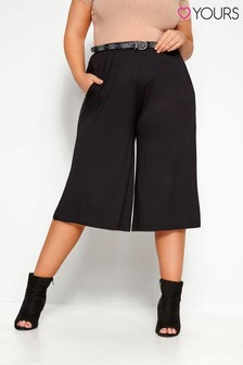Yours Curve Jersey Culottes