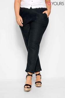 Yours Curve Tapered Trousers