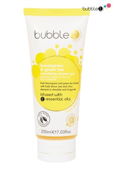Bubble T Shower Gel Lemongrass & Green Tea 200ml
