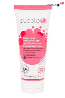 Bubble T Shower Gel Hibiscus & Acai Berry Tea 200ml