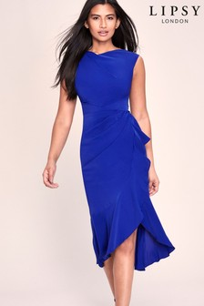 Lipsy Ruffle Midi Dress