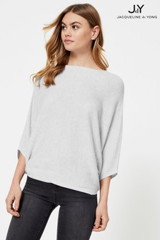 JDY Knitted Bat Sleeve Top
