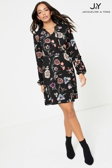 JDY Floral Print Mini Dress