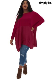 Simply Be Hanky Hem Top