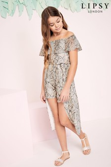 Lipsy Girl 2 In 1 Playsuit