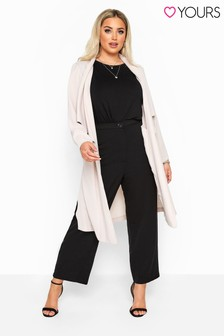 Yours Curve Straight Leg Trousers