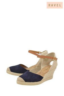 Ravel Leather Espadrille