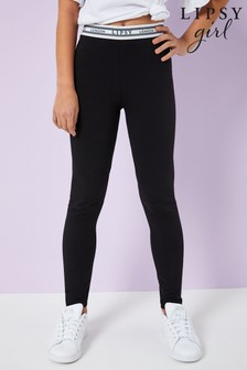 Lipsy Girl Black Leggings