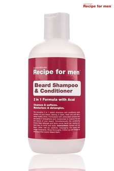Recipe for Men Beard Shampoo And Conditioner 250 ml