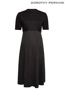 Dorothy Perkins Maternity 2In1 Spot Dress