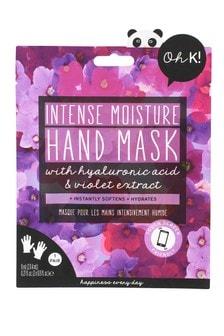 Oh K! Violet Flower Hand Mask