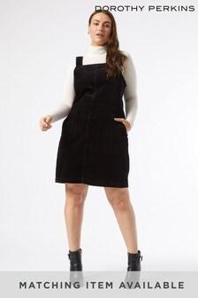 Dorothy Perkins Curve Cord Pinny Dress