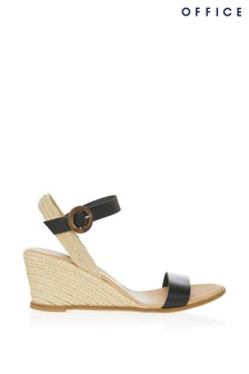 Office Two Part Buckle Espadrille Sandals