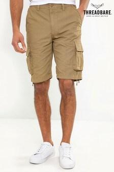 Threadbare Washed Cargo Shorts