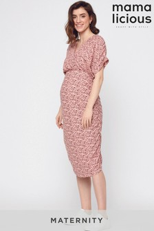 Mamalicious Maternity Midi Dress