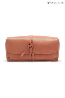 The Brighton Beard Co. Ruxley Leather Wash Bag