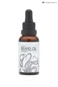 The Brighton Beard Co. Lime & Basil Nourishing Handmade Beard Oil 30ml
