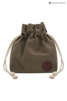 The Brighton Beard Co. Wax Cotton Draw String Bag