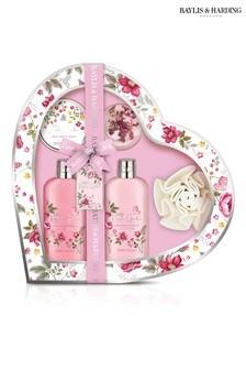 Baylis & Harding Royale Garden Large Heart Gift Set