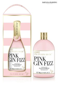 Baylis & Harding The Fuzzy Duck Pink Gin Fizz 500ml Bath Bubbles