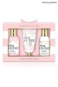 Baylis & Harding The Fuzzy Duck Pink Gin Fizz Small 3 Piece Gift Set