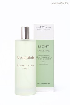 AromaWorks Light Range - Lemongrass & Bergamot Room Mist