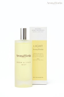 AromaWorks Light Range - Mandarin & Vetivert Room Mist
