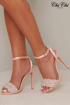 Chi Chi London Jesy Pearl Detail Heels