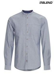 Blend Slim Fit Grandad Collar Shirt
