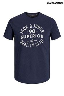 חולצת טי עם כיתוב של Jack & Jones